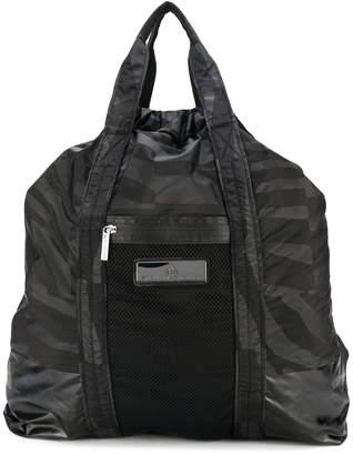adidas by Stella McCartney graphic print gym backpack