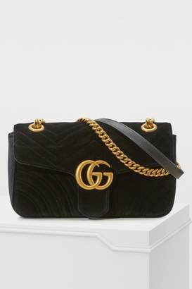 342066010844 Gg Marmont Velvet Shoulder Bag - ShopStyle