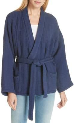 Mes Demoiselles Mes Desmoilles Jacquard Kimono Jacket