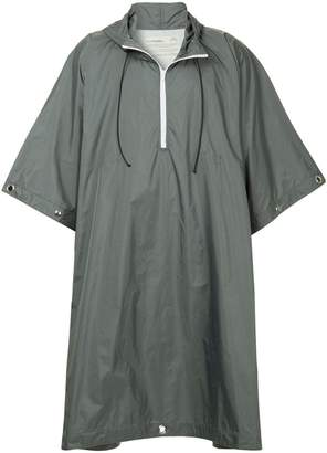 A-Cold-Wall* oversized pull-over raincoat