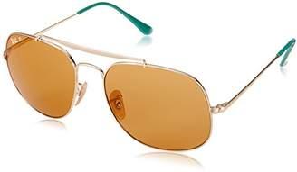 Ray-Ban Men's the General Polarized Square Sunglasses