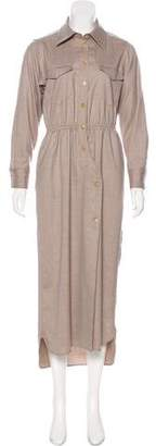 Max Mara Virgin Wool Dress