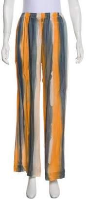 Raquel Allegra Silk High-Rise Pants w/ Tags