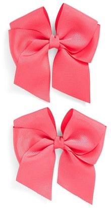 Plh Bows & Laces Bow Clips $12 thestylecure.com