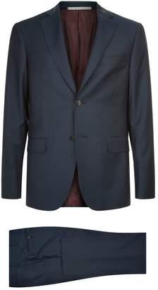 Pal Zileri Tonal Houndstooth Two-Piece Suit