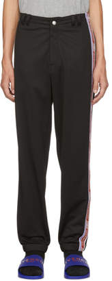 Givenchy Black Logo Tape Track Pants