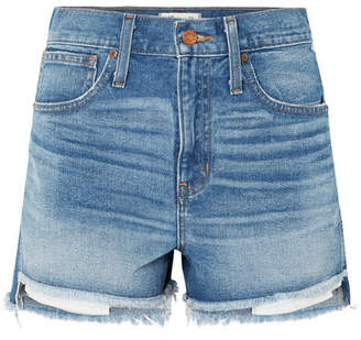Madewell The Perfect Denim Shorts - Mid denim
