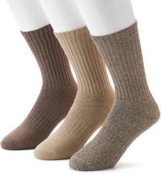 Dockers Men's 3-pack Enhanced Cushioned Crew Socks