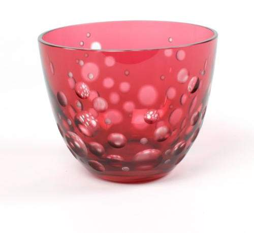 Rotter Glas Schale Aufsteiger, rosé