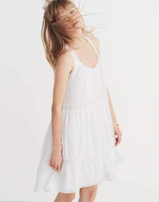 Madewell Embroidered Honeysuckle Dress
