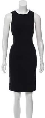 Stella McCartney Sleeveless Lace Accented Dress