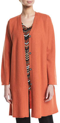 Masai Lora Long Merino Wool Cardigan