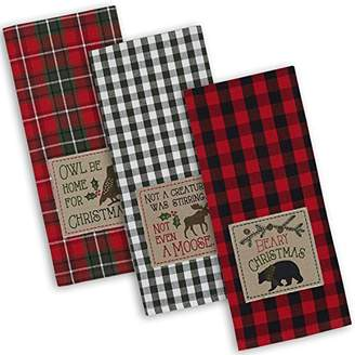DII Cotton Christmas Holiday Dish Towels