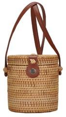 ANTIK KRAFT Woven Straw Bag