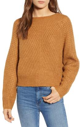 Leith Chunky Crewneck Pullover Sweater