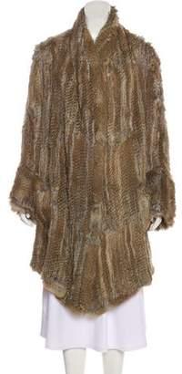 Antik Batik Knee-Length Fur Coat