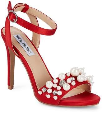 Steve Madden Women's Dayanara Satin Stiletto Heels