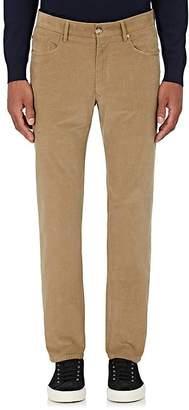 Incotex Men's M-Body Modern-Fit Corduroy Trousers