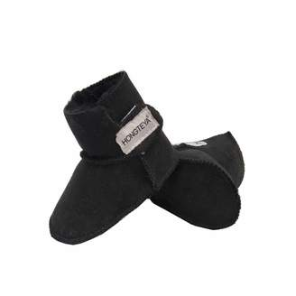 Baby Bootie HONGTEYA Sheepskin 100% Pure Australian Sheepskin Baby Girl's Winter Boots (Infant)