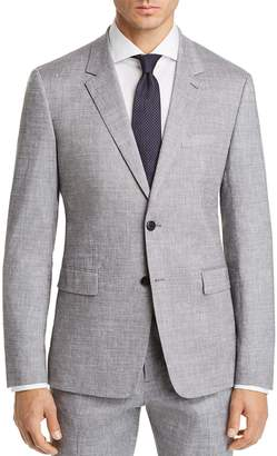Theory Gansevoort Solid Slubbed Summer Slim Fit Suit Jacket