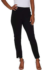 Halston H by Petite Ankle Length Ponte Legging
