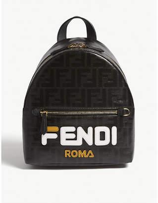 Fendi Fila logo mini leather backpack