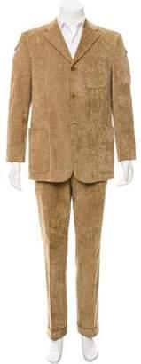 Valentino Corduroy Two-Piece Suit