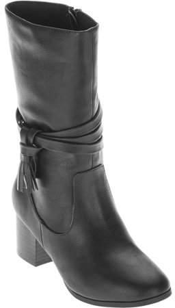Faded Glory Girls' Heeled Boot