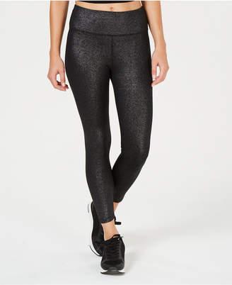 Calvin Klein Shimmer High-Waist Ankle Leggings