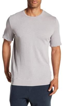 Velvet by Graham & Spencer Short Sleeve Lightweight Knit French Terry Shirt