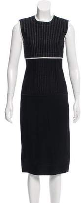 DKNY Paneled Midi Dress w/ Tags