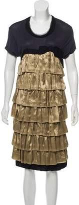 Lanvin Midi Knit Dress
