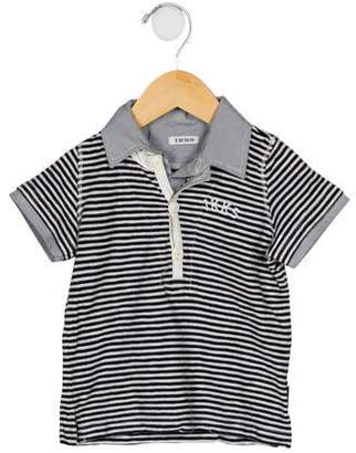 Ikks Boys' Striped Polo Shirt