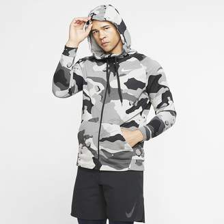 Nike Men's Full-Zip Camo Hoodie Dri-FIT