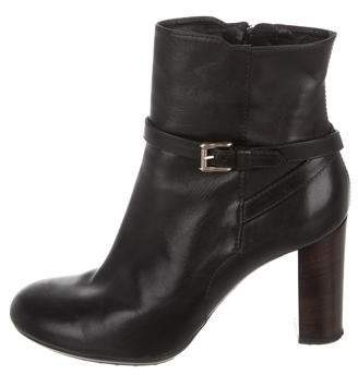 Tod's Round-Toe Ankle Boots