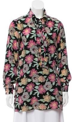 Fendi Vintage Silk Tunic