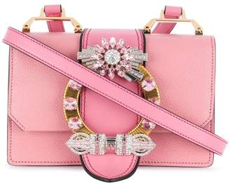 Miu Miu Handbag Crystal Straps - ShopStyle 09c50c433acc9