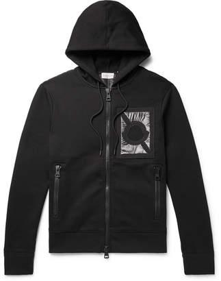 Craig Green Moncler Genius - 5 Moncler Nylon-Panelled Cotton-Blend Jersey Zip-Up Hoodie