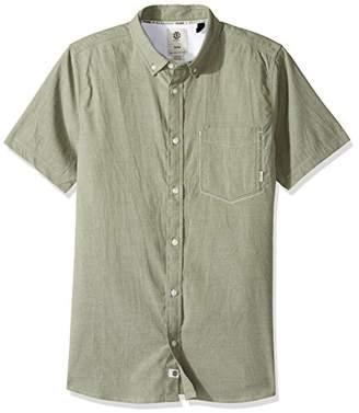 Element Men's Greene Oxford Flex Short Sleeve Woven Shirt