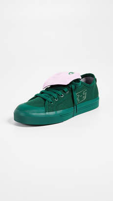 adidas Raf Simons Spirit Low Asymmetrical Tongue Sneakers