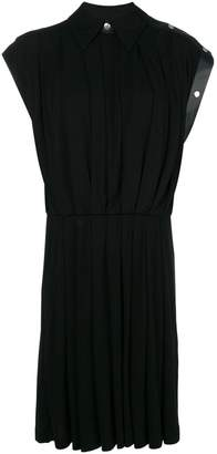 Givenchy leather trim dress