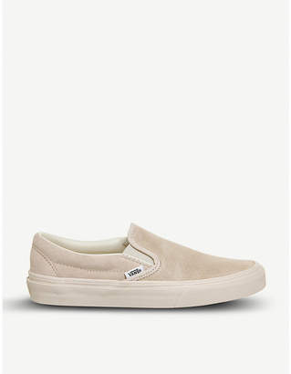 Vans Classic slip-on suede skate shoes