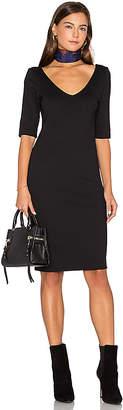 amour vert Starla Dress in Black $108 thestylecure.com