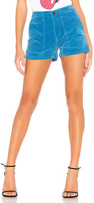 Pam & Gela Mid Rise Patch Pocket Shorts