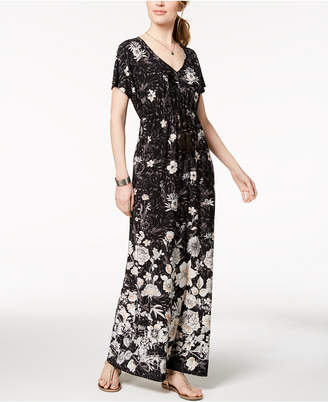 Style&Co. Style & Co Dolman-Sleeve Maxi Dress, Created for Macy's