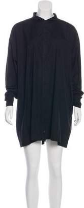 eskandar Long Sleeve Mini Dress