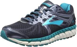 Brooks Women's Ariel '16 2E Running Shoe (BRK-120219 2E 40220F0 12 ANT/PUR/PRIMER)