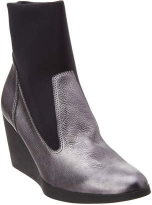 Arche Vitelo Leather Wedge Bootie