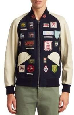Kent & Curwen Langley Varsity Jacket
