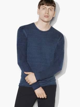 Silk Cashmere Crewneck Sweater $398 thestylecure.com